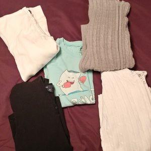 Bundle 5 kids/girls L-XXL Winter Tops GAP + more